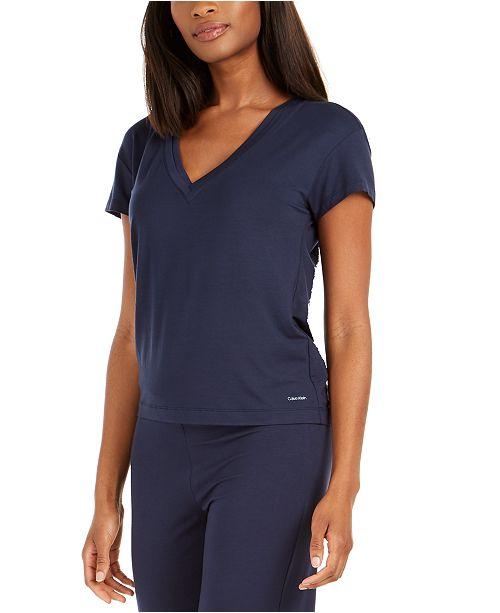 Calvin Klein Flirty V-Neck Sleep T-Shirt