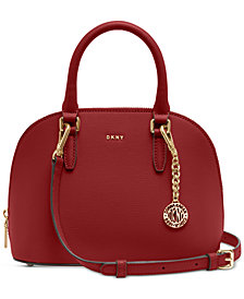 DKNY Bryant Leather Dome Satchel