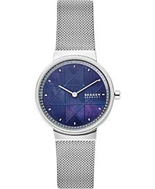 Women's Annelie Stainless Steel Mesh Bracelet Watch 34mm