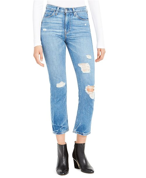 Hudson Jeans Holly Cropped High-Rise Jeans