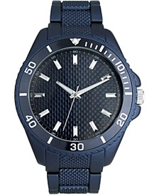 I.N.C. Men's Blue Bracelet Watch 36mm, Created For Macy's