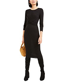 Twist-Front Dress, Created For Macy's