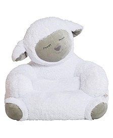 Children's Plush Lamb Character Chair