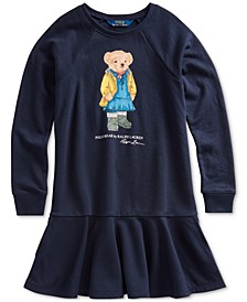 Big Girls Raincoat Bear Terry Dress