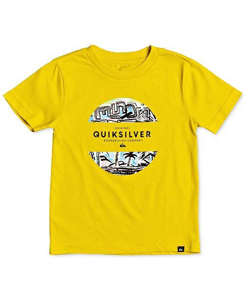 Quiksilver Big Boys Cotton Graphic-Print T-Shirt