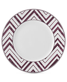 Mikasa Cadence Zigzag Accent Plate