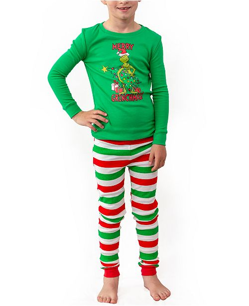 The Grinch Matching Boys Two Piece Pajamas, Online Only