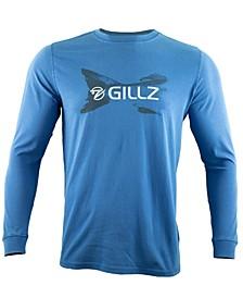 Men's Fishtail Logo Ocean Wash Long Sleeve T-Shirt