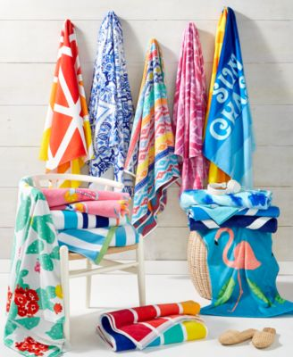 Inca Stripe Bath Towel, Created For Macy's