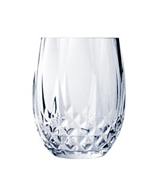 Cristal D'Arques 10oz Stemless Wine Glass, Set of 4