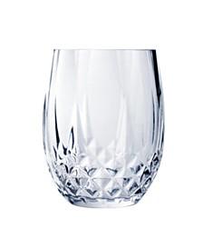 Longchamp 10oz Stemless Wine Glass, Set of 4
