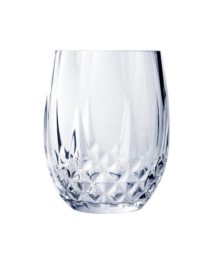 Longchamp - 10oz stemless wine, Set of 4