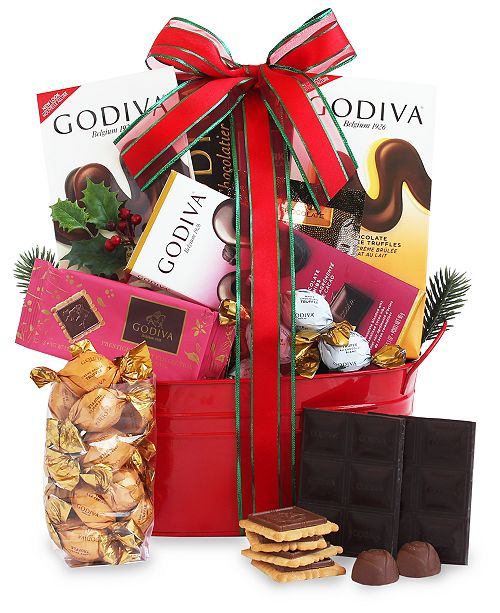 California Delicious Godiva Gift Tin