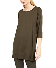 Eileen Fisher 3/4-Sleeve Tunic