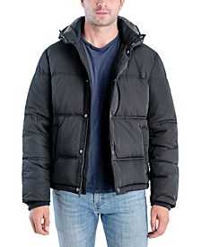 Men's Southold Tubular Quilted Hooded Ski Jacket