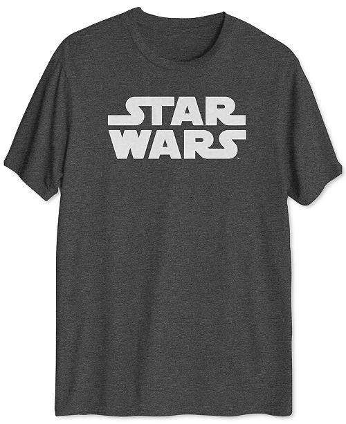 Hybrid Star Wars Logo Men's T-Shirt