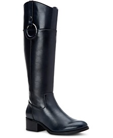 Women's Bexleyy Riding Leather Boots, Created for Macy's