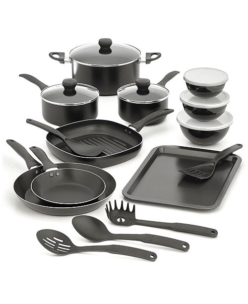 Tools of the Trade CLOSEOUT! 21-Pc. Nonstick Cookware Set, Created for Macy's