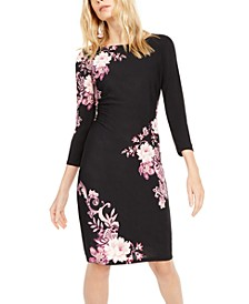 INC Floral Sheath Dress, Created For Macy's