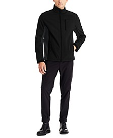 Men's Slim-Fit Stretch Softshell Jacket