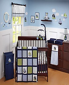 Kids Zachary 7-Piece Crib Bedding Set