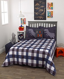 Roarsome 3-Piece Full Bedding Set