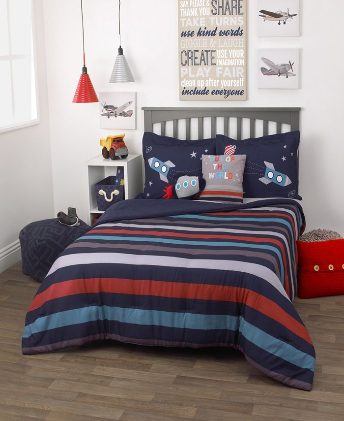 Everything Kids - Out of This World 3-Piece Full Bedding Set