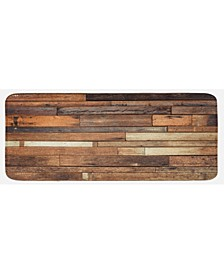 Wooden Kitchen Mat