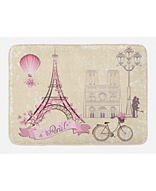 Paris Kiss Bath Mat