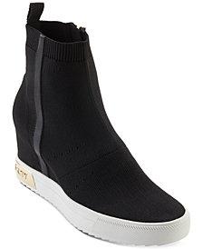 DKNY Cali Wedge Sneakers