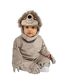 Toddler Girls and Boys Sloth Deluxe Costume