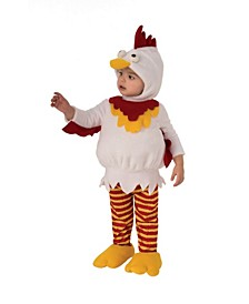 Toddler Girls and Boys Chicken Deluxe Costume