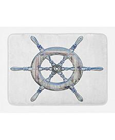 Nautical Bath Mat