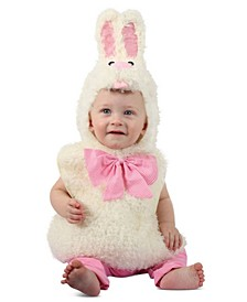 Baby Girls and Boys Gingham Bunny Costume