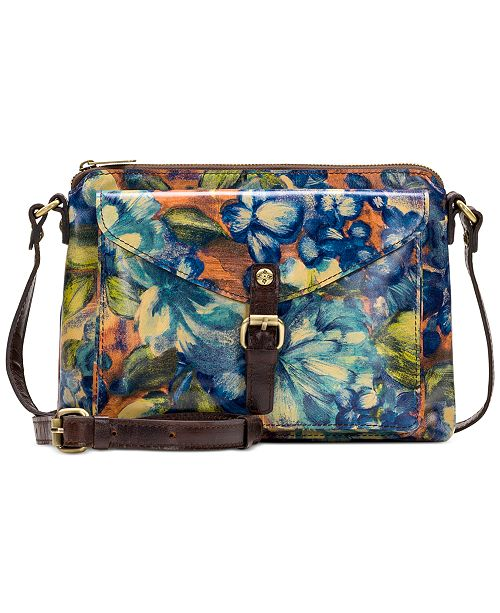 Patricia Nash Blue Clay Avellino Crossbody