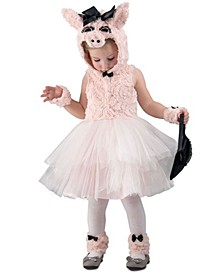 Baby Girls Piggy Went To Market Costume