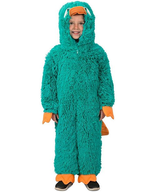 BuySeasons Big Girls and Boys Parker the Platypus Costume