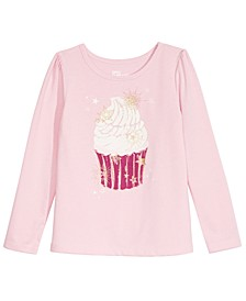 Little Girls Cupcake T-Shirt, Created For Macy's