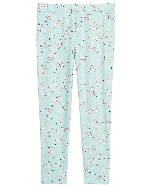 Epic Threads Little Girls Floral-Print Leggings, Created For Macy's