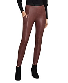 Andrei Faux Leather Legging
