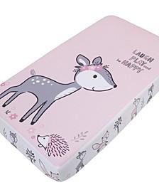 Sweet Deer Photo-Op Crib Sheet