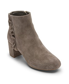 Women's Total Motion Oaklee Ruffle Ankle Boots