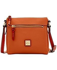 Pebble Leather Allison Crossbody