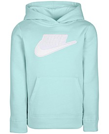 Toddler Girls Fleece Logo Hoodie