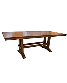 Kingswood Road Traditional Wood Dining Table