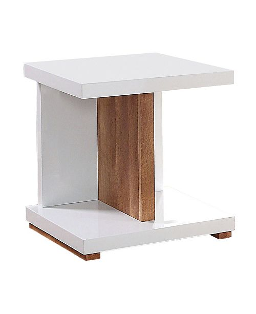 Furniture of America Jasmino Open Shelf End Table
