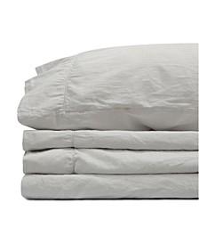 Jennifer Adams Relaxed Cotton Sateen Twin XL Sheet Set