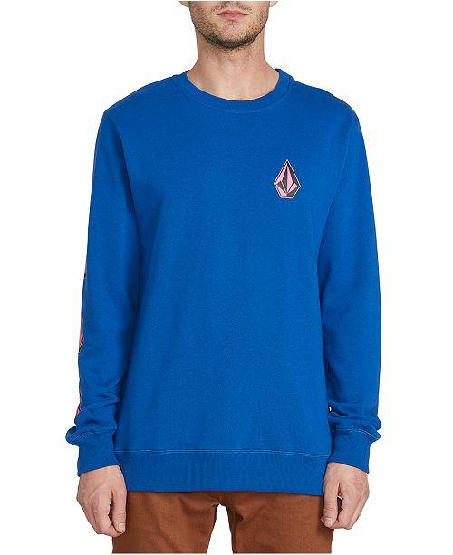 Volcom Men's Brasstacks Deadly Stone Sweatshirt