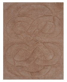 "Tuft Twisted 21"" x 34"" Bath Rug"