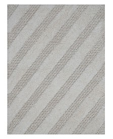 "Diagonal Honeycomb 17"" x 24"" Bath Rug"